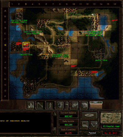Taktik Screen