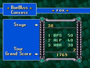 Der 30 Level umfassende Bombliss-Mode!