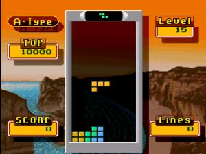 Der bekannte Tetris-Mode. Zeitlos.