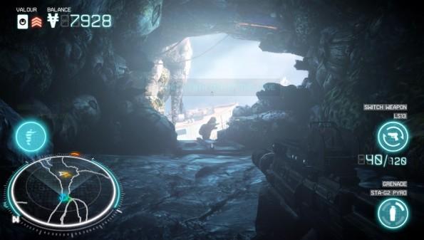 Sieht fabelhaft aus: Killzone: Mercenary auf der PS Vita
